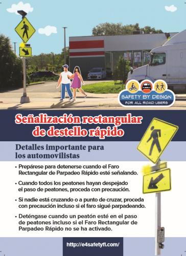 Motorists RRFB Spanish
